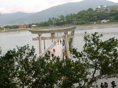 竹島橋全景