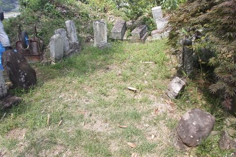 墓地着手前1