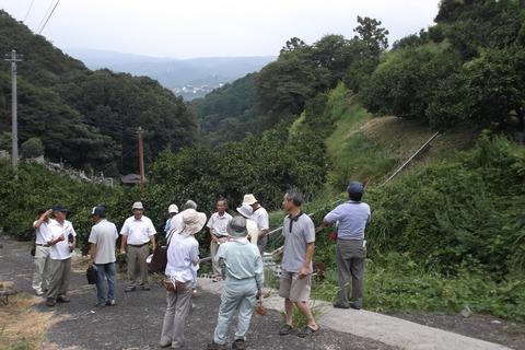 8-23岐阜の柿組合様園視察