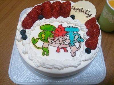 3サルケーキ!