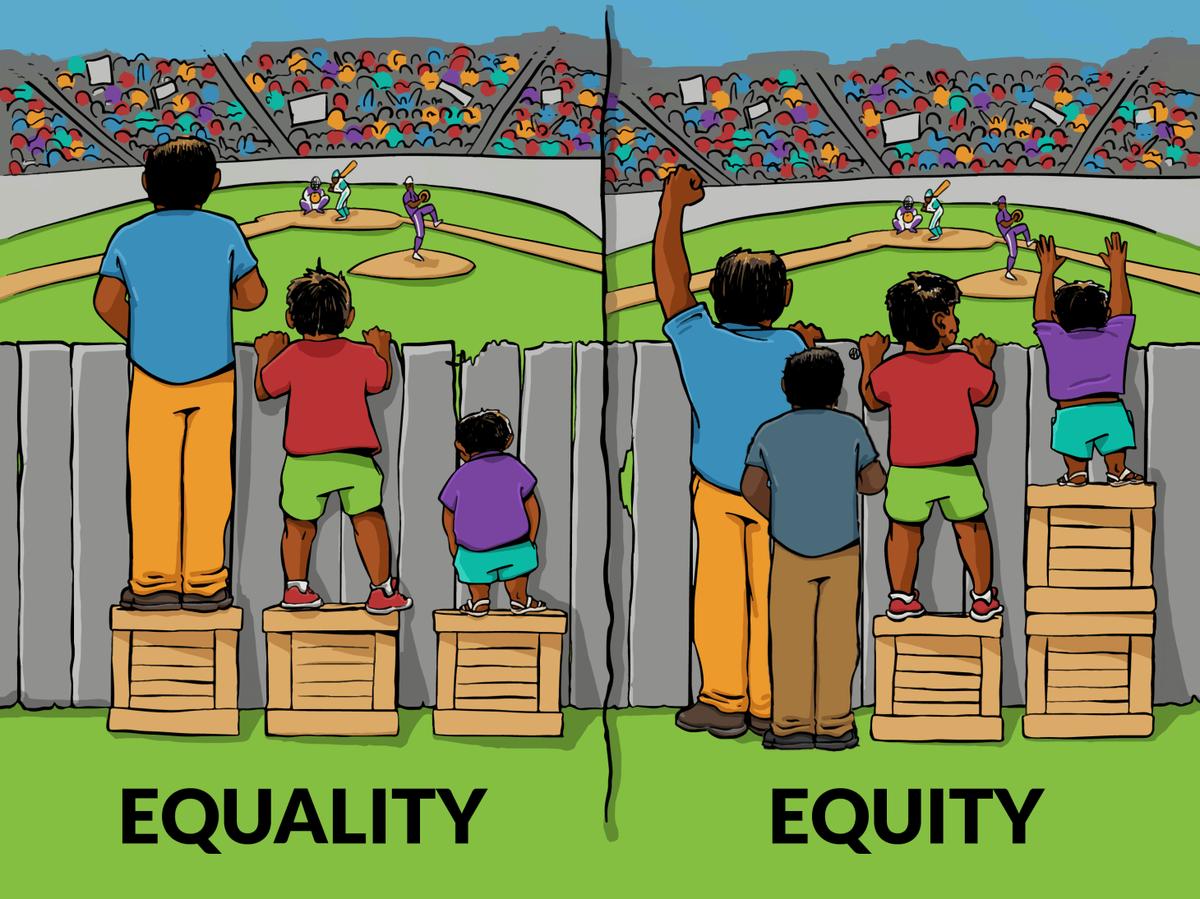 平等と公平とグレーゾーン