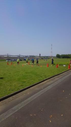 リレーマラソン in 庄内緑地