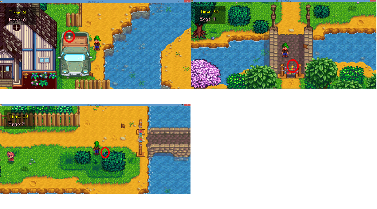 how to leave the festival stardew valley