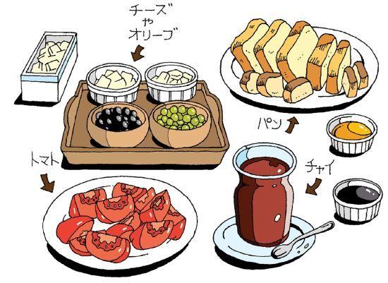 トルコ 朝食 フェダーチーズ