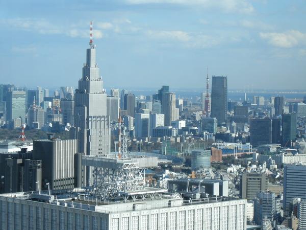 tokyo 都庁 展望台