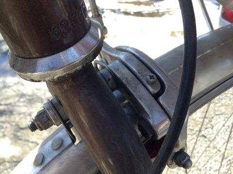 自転車の前輪ブレーキシュー ...