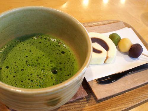 2017081303一六茶寮で一六名菓セット