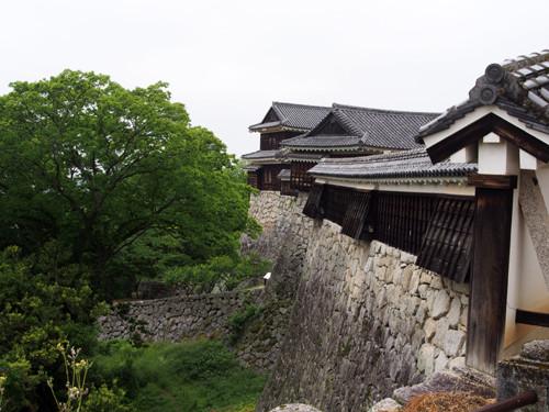 2017080404紫竹門西塀、乾門東続櫓東折曲塀