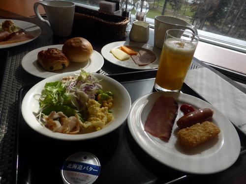 2017051809ヒルトンニセコビレッジの朝食