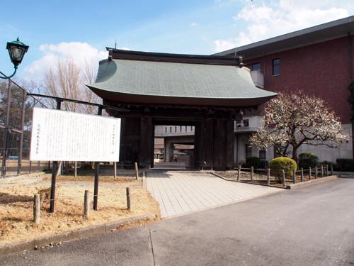 2017050610旧水戸城薬医門