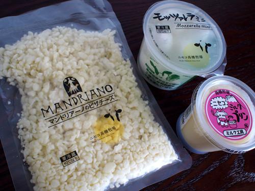 2017052117ミルク工房のチーズとプリン
