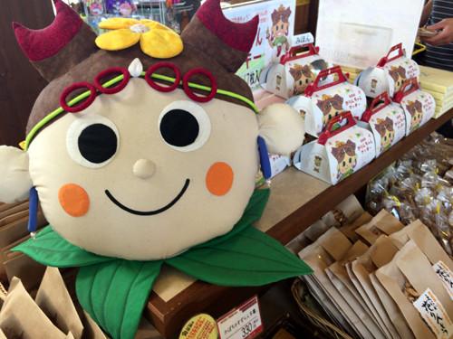 2017112105道の駅花ロードえにわでかりんちゃん