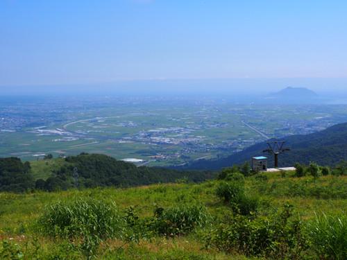 2017113003きじひき高原の展望台から函館山、新函館北斗駅方面