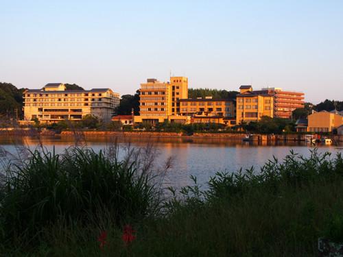 2018090114夕方のホテル方面の眺め