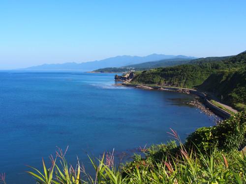 2017112404道の駅ルート229元和台から穴澗岬と鮪の岬