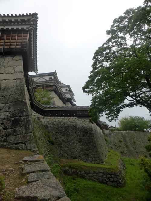 2017080407乾門東続櫓東折曲塀、南隅櫓