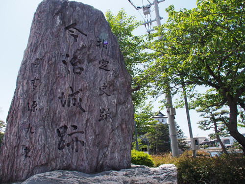 2017072901今治城跡の石碑