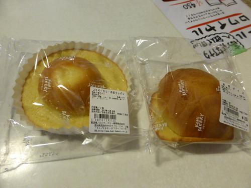 2017072307KOMI BAKERYのぼうしパンとお芋ダイス
