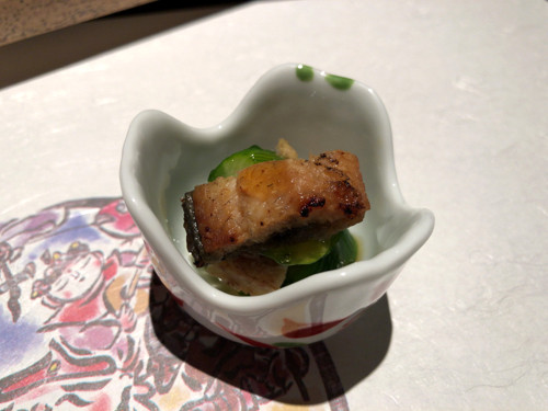 2018090309宝楽盛りの土佐酢和え旬の恵(遠州灘の鰻)