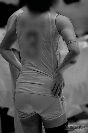 【女子バレー】赤外線カメラで盗撮するとこうなる (34)