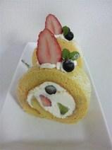 米粉のフルーツロール