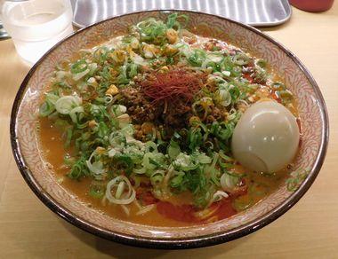鶏白担々麺