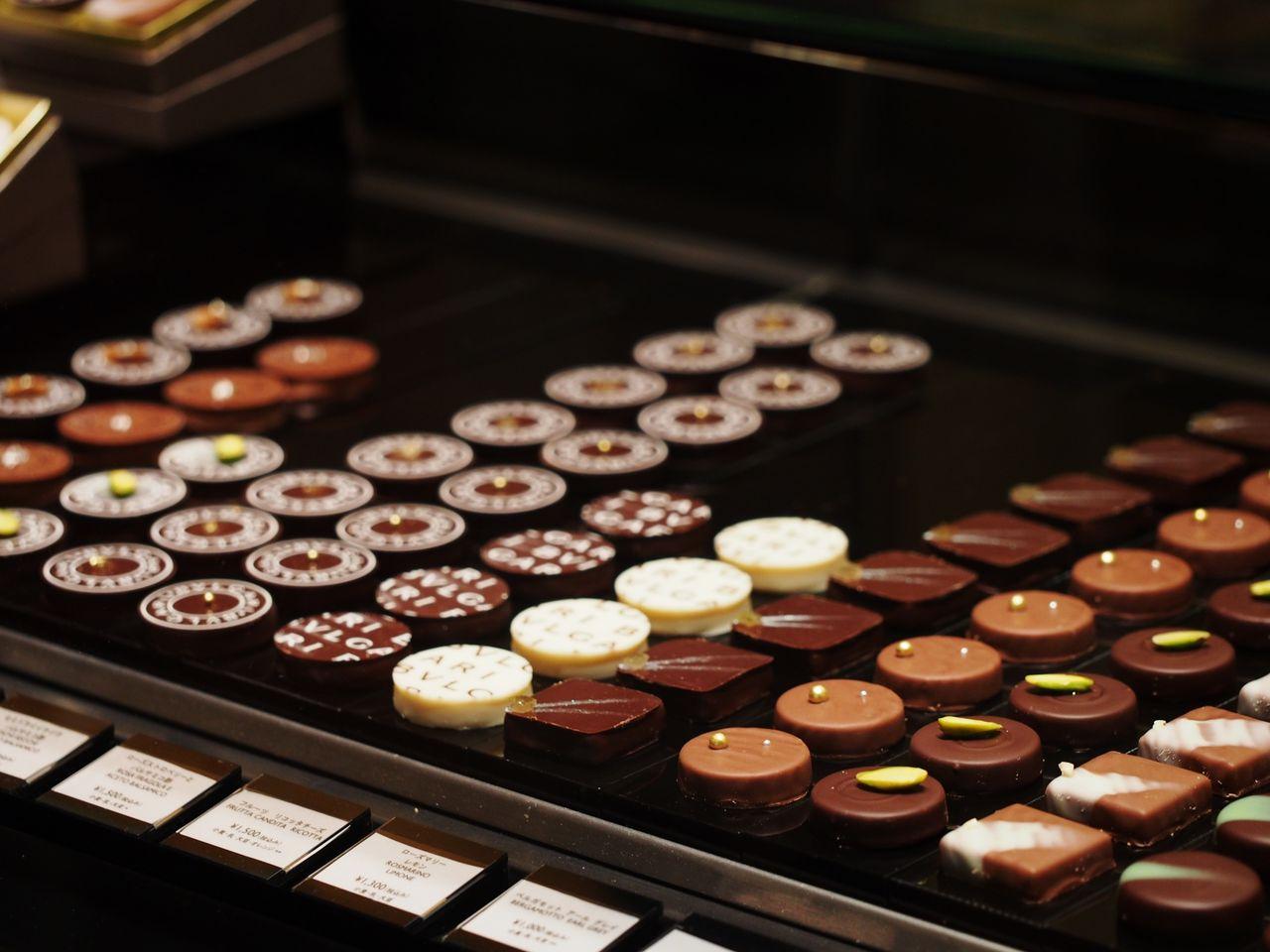 チョコ 店舗 ブルガリ