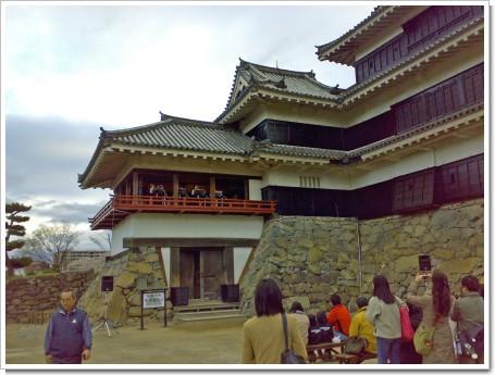 松本城フルート演奏