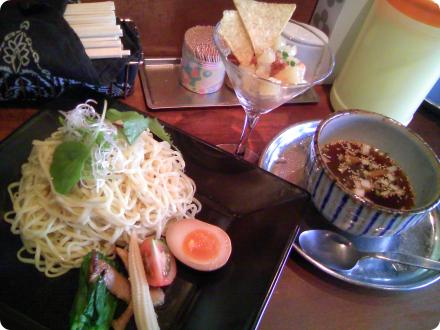 四季彩菜麺 涼夏 冷つけ麺 情熱のメキシカン