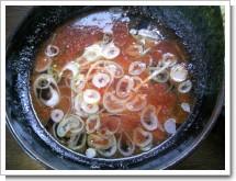 えびつけ麺スープ