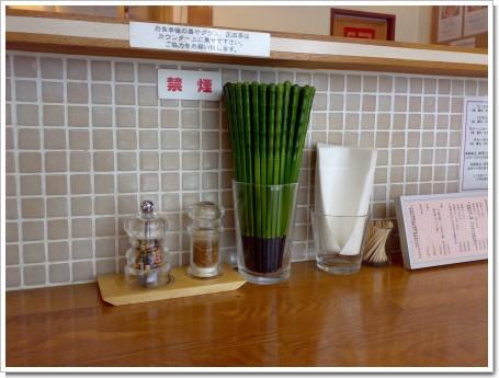 喜八郎の箸