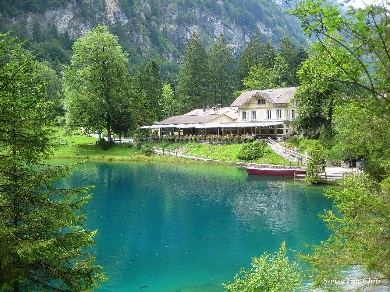 スイス - 26の旅の扉      クリスタルのような透き通った青い湖! スイス ・ブラウゼー    コメント