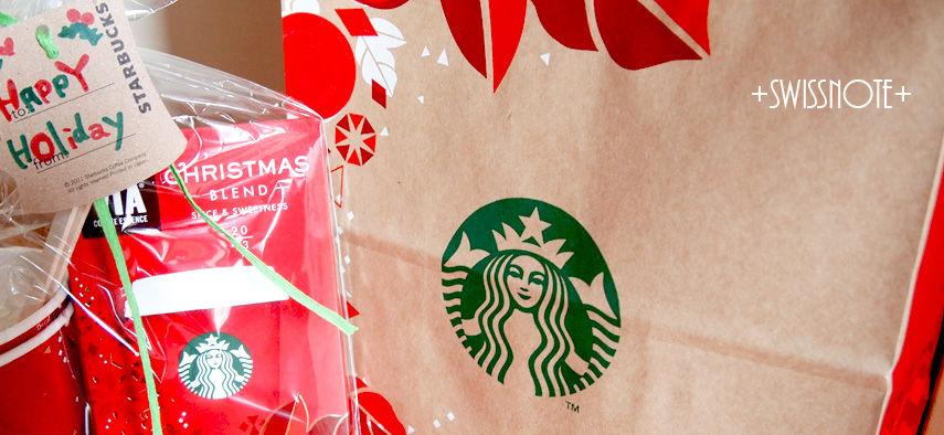 Starbucks Christmas blend in 2013
