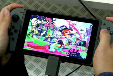 「スプラトゥーン2」 会場試遊Cam撮りプレイ映像が公開!携帯時、TV出力時を比較確認!!