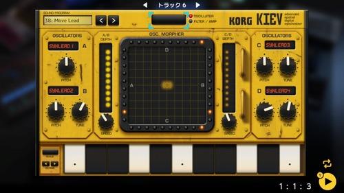 KORG Gadget for Nintendo Switch (1)