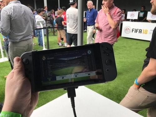スイッチ版「FIFA 18」 の携帯モードクオリティが驚くほど美しいと絶賛の声!!
