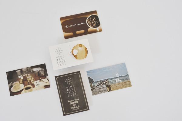 [制作事例]カード、ロゴデザイン