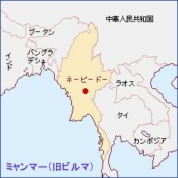 地図・ビルマ