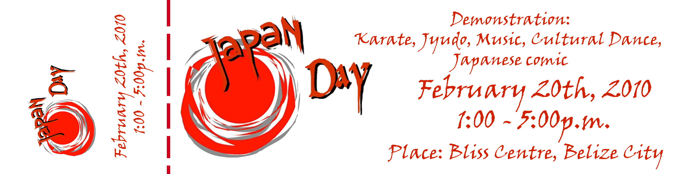 Japan Day Ticket