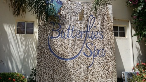 Butter fly spa