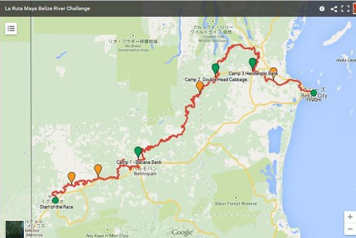 Ruta maya route