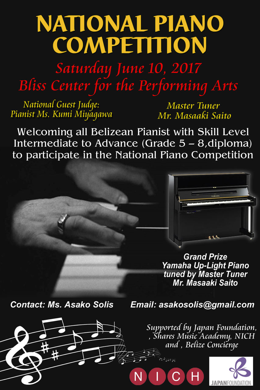 Piano CompetitionFINAL 26 04 2017