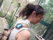 幸せの青い蝶