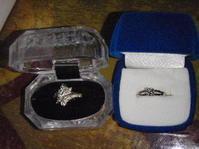 婚約指輪と