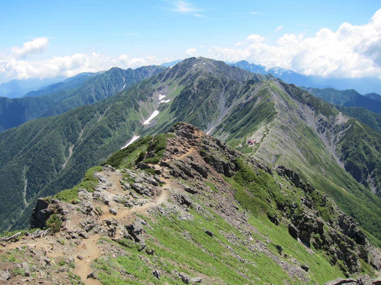 私の山岳紀行  北岳・間ノ岳 【2012/08/03 ~ 04】