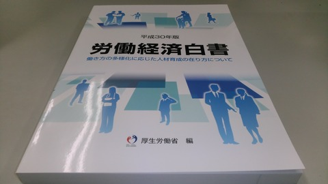 平成30年版労働経済白書