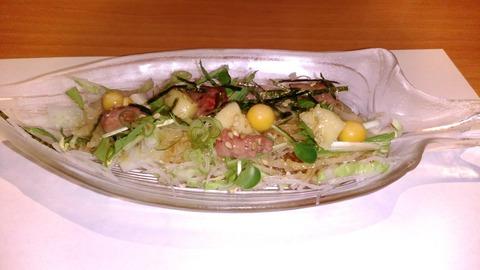 【4】すっぽんサラダ仕立て