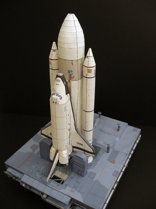 atlantis space shuttle papercraft - photo #11