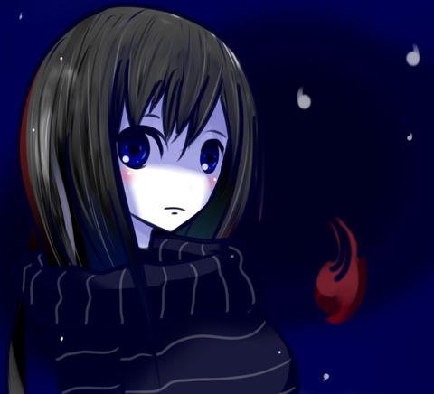 青い眼のエリナちゃん