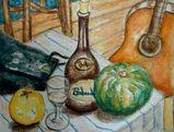 09 8 20  ワインとカボチャ